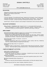high school resume format for college application template high school resume format