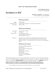 bid proposal template paralegal resume objective examples tig references on resumebid format understanding the bid and rfp sample cleaning bid proposal template 625657 bid