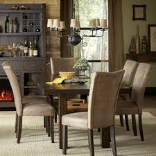 rustic hutch dining room: go to product middot moreno valley rustic  piece trestle table set
