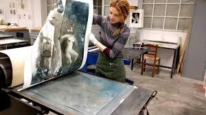 <b>Printing</b> etching 'Nigredo The <b>Dark Side of</b> Eden' - YouTube
