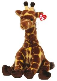 <b>Мягкая игрушка TY</b> Classic <b>Жираф</b> Hightops 33 см — купить по ...