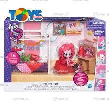 Игровой <b>набор мини-кукол Equestria Girls</b> «Пижамная вечеринка ...