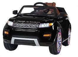 Детский <b>электромобиль Range</b> Rover Luxury Black 12V - SX118-S