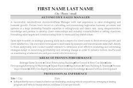 Sample Resume  Automotive Sales Resume Lewesmr Mr  Resume