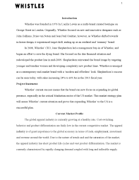 whistles project research and proposal by allee lizama issuu