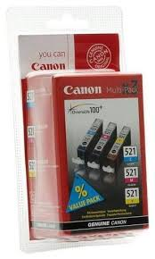 <b>Набор картриджей Canon CLI-521</b> C/M/Y Multipack (2934B010 ...