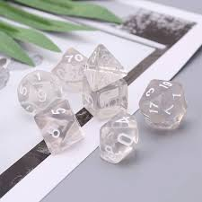 Online Shop <b>Set</b> Of <b>7</b> Sided Polyhedral Dice For RPG Dungeons ...
