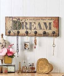 get quotations dream vintage french style inspirational art hooks shabby chic wall mounted jewelry necklace keys scarves hanger chic shabby french style