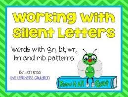 Resultado de imagen para words with wr, kn, gn
