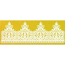 Regal <b>Crown</b> Lace <b>Silicone</b> Lace Mat by Chef Alan Tetreault <b>Cake</b> ...