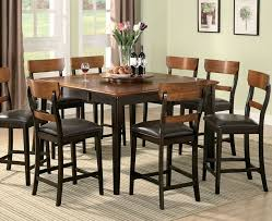 square counter height dining room table