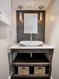 open bathroom vanity cabinet: open bathroom vanity photos aec  w h b p contemporary powder room