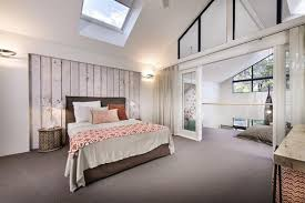 attic master bedroom white