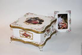 Купить <b>Шкатулка</b> для украшений Пастораль <b>розовая</b> - подарок ...