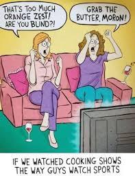 Funny cartoon - Cooking show   Funny Dirty Adult Jokes, Memes ... via Relatably.com