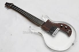 Top Quality New style <b>Acrylic crystal Electric guitar</b>,<b>rosewood</b> ...