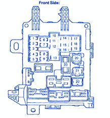 toyota corolla ce 2006 engine fuse box block circuit breaker toyota corolla ve 4 2000 door sedan instrument panel fuse box block circuit breaker diagram