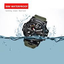 <b>Men</b> Military S Shock <b>Watch 50m</b> Waterproof Wristwatch <b>Male</b> ...