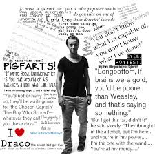 Tom Felton as Draco Malfoy Quotes - Polyvore via Relatably.com