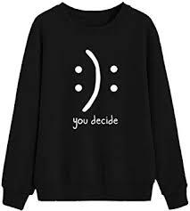 Autumn Winter Womens Pullover Sweatshirt Teen Girl ... - Amazon.com