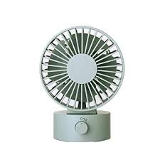<b>Desk Noiseless</b> USB Fan with Updated Strong Airflow, <b>2 Speeds</b>
