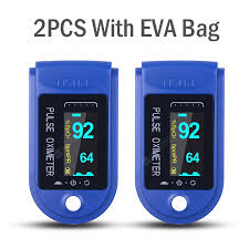 <b>2PCS Digital Finger</b> Oximeter Portable Electronic LED Display ...