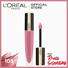 <b>LOreal</b> Paris <b>Rouge Signature</b> Matte Liquid Lipstick [Lip <b>Tint</b> ...