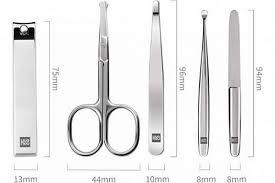 Купить <b>Маникюрный набор Xiaomi Huo</b> Hou Stainless Steel Nail ...