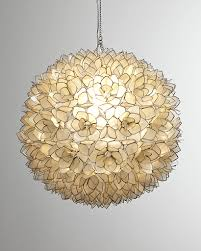 glamorous capiz shell chandelier in ball shape for home lighting ideas capiz shell chandelier capiz shell lighting fixtures