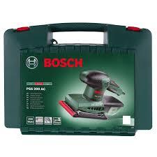 Вибрационная шлифмашина <b>Bosch</b> PSS 200 AC, 200 Вт в ...