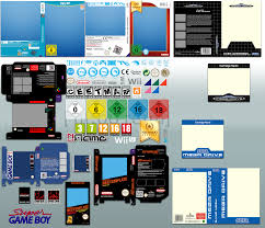 vector game cover templates v6 by neorame on vector game cover templates v6 by neorame