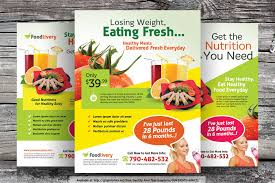healthy food flyer templates by kinzi on healthy food flyer templates by kinzi