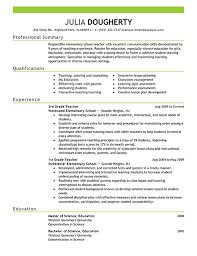 teacher resume example emphasis   pngall job industries