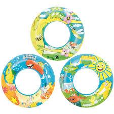 <b>Круг надувной Bestway</b> Designer <b>Swim</b> Ring 56 см арт. 3786126 ...