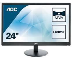 "<b>AOC Value</b>-<b>line M2470SWH</b> LED display 59.9 cm (<b>23.6</b>"") Full HD ..."