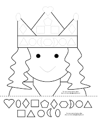 template yngste gruppe met princesses and templates template