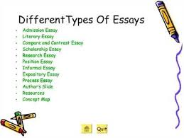 different types of essay writing effectively writing different types of essays has become critical to academic success