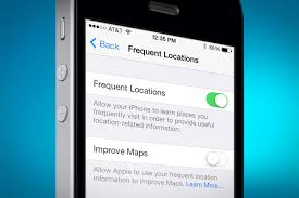Image result for frequent locations iphone 4