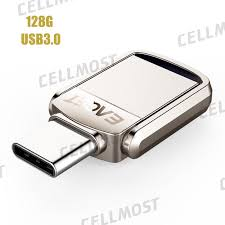<b>EAGET CU20</b> 2 in 1 USB 3.0+<b>Type</b>-<b>C</b> 3.1 OTG USB Flash Drive ...