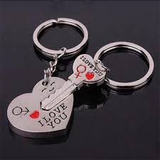 <b>Keychain Lovers' Key Rings</b> Valentine's Day Gifts-buy at a low ...