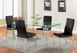 black and white dining table set: kitchenfancy futuristic modern kitchen table set with expandable top and solid white dining chairs