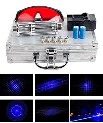 <b>High Power</b> Blue Light LED Pointer Demonstration Projector <b>Laser</b> ...