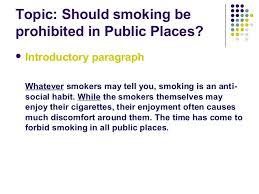 argumentative essay on smokingessay on smoking an argumentative essay about banning smoking in public places     essay