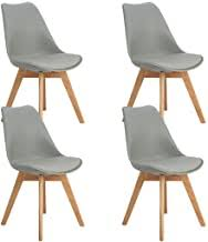 Solid Oak Dining Chairs - Amazon.co.uk