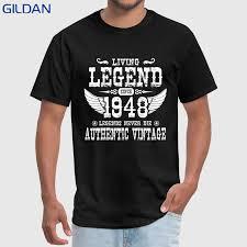 Футболка с принтом «<b>живая легенда</b>» с <b>1948</b> года, футболка с ...