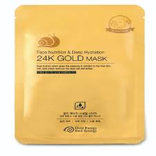 <b>24K Gold Face</b> Nutrition and Deep Hydration <b>Mask Sheet</b> - Beauficial