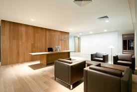 pleasant minimalist office means valuable assets for the company waiting room design ideas 2014 paramount bright office room interior