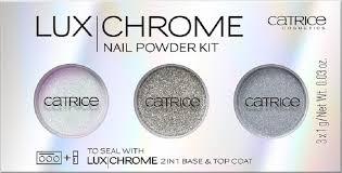 Catrice Набор <b>эффектных</b> пудр для <b>ногтей</b> 3 в 1 LuxChrome <b>Nail</b> ...
