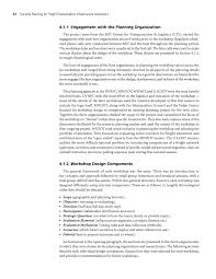 section scenario planning workshop design strategic issues page 42