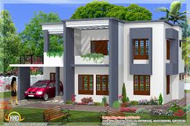 Simple Bedroom House Plans   Simple Flat Roof House Design    Simple Bedroom House Plans   Simple Flat Roof House Design